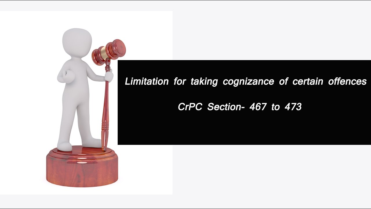 Limitation For Taking Cognizance Of Certain Cases