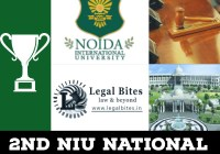 2nd NIU National Moot Court Competition, 2019