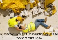 6 Common Types Of Construction Injuries All Workers Must Know
