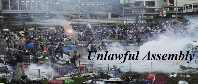 Dispersal of Unlawful Assembly