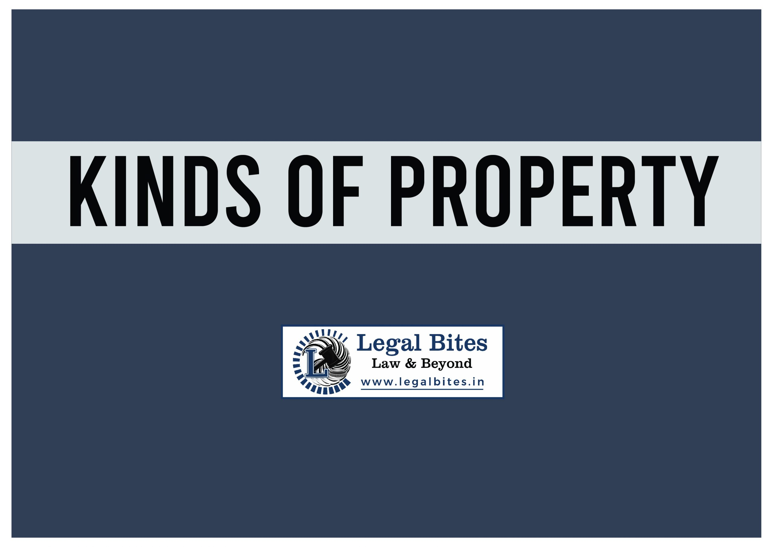 Kinds of Property