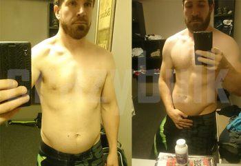 Clenbuterol Ergebnisse vor und nach dem Bilder