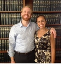 2013 Legal Interns, Max Tipping and Caitlin Cocilova