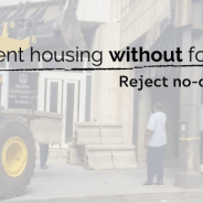 """Our statement opposing the creation of """"no camping zones"""" and continued violence against unhoused persons"""