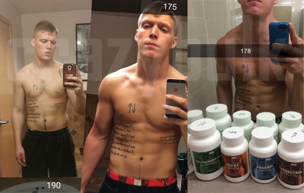 Williams Before and After Crazy Bulk