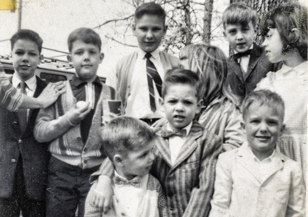 (Clockwise from upper left) Mark, Barry, Gary, Paul, Susan, Tony, Kacy, Chris, Larry