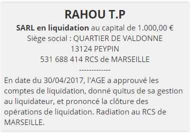 annonce legale cloture de liquidation