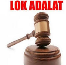 National Lok Adalat tomorrow