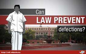 Anti-defection law