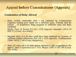 Condonation of Delay in case of Appeals