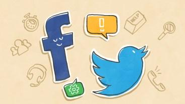 Facebook? Twitter?