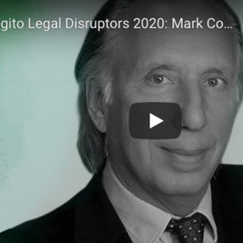 Legito Legal Disruptors 2020: Mark Cohen, Challenges & Opportunities for Lawyers in Times of Covid