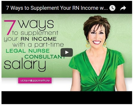 How to Get Started with a PartTime Legal Nurse Consultant Salary  Vickie Milazzo Institute