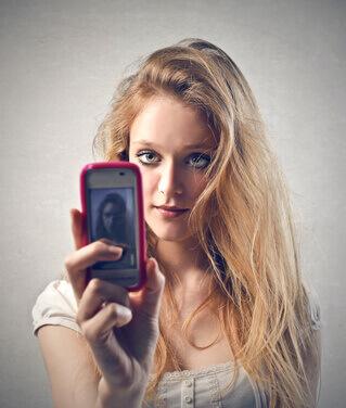 Bewerbungsfoto Selfie