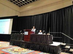 Kelly speaking at InterDrone