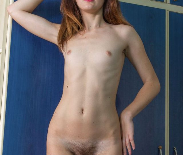 Nude Tiny Tits Teen With Hairy Pussy