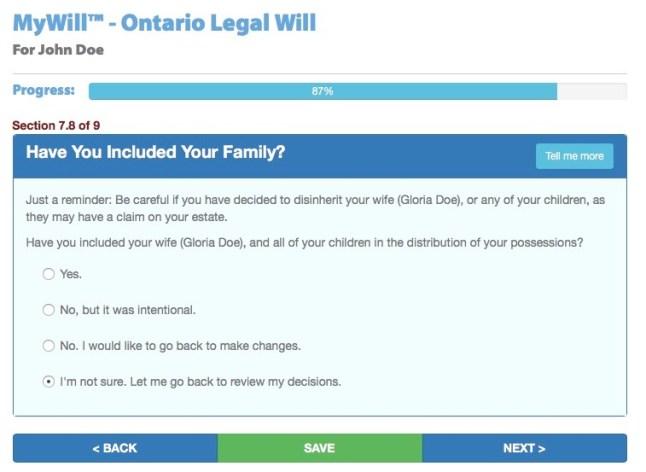 Write a Will in Canada