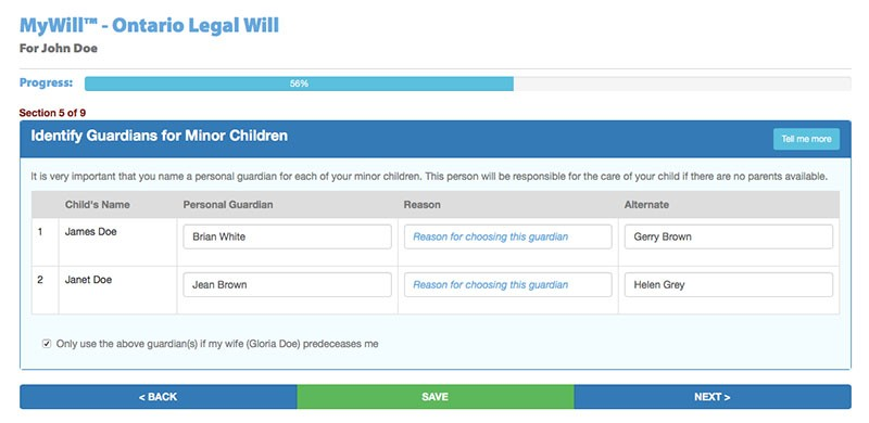 naming a guardian for your child template - guardian for your children how to name a guardian in
