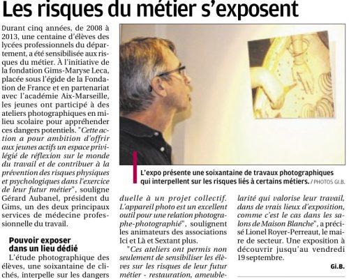 La Provence - 5 septembre 2014