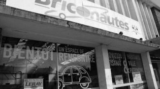 Le magasin Briconautes était innocupé depuis des années.