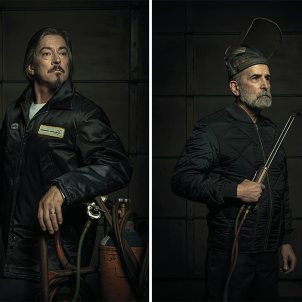 (c) Freddy Fabris - Rembrandt-inspired portraits