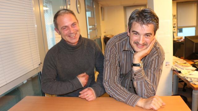 Eric Dodon et Patrice Quélard