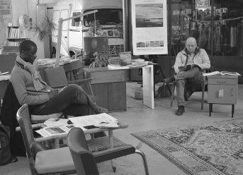 5 février 2017   Librairie du Dimanche au Garage   Photo: Jean-Philippe Hemery