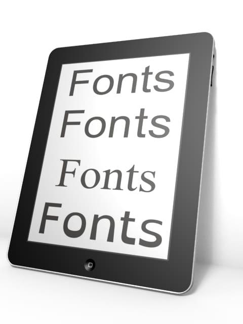 fonts_ipad3