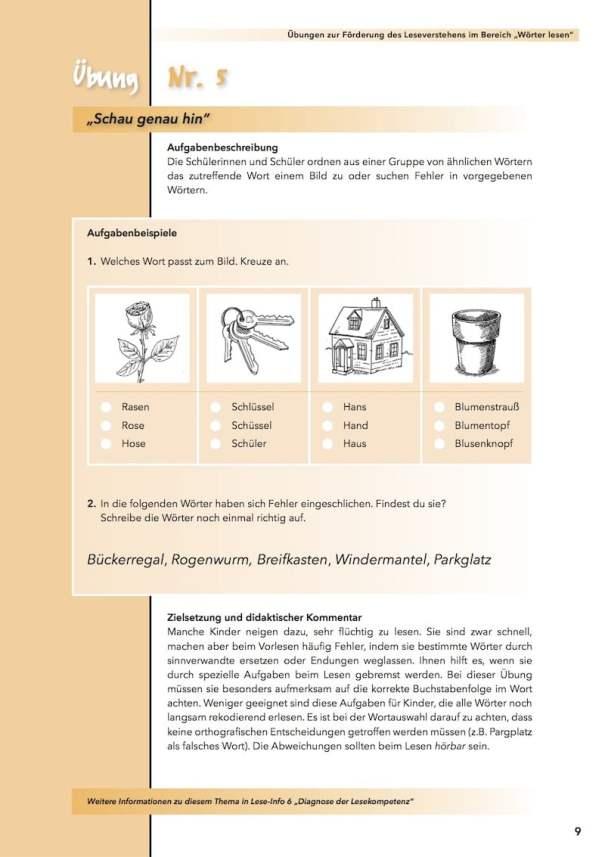 Didaktische Materialien zum sinnerfassenden Lesen, Lesen, Lesekompetenz, Handreichung Lesen, Legasthenie, AFS-Methode, EÖDL, Legasthenietraining