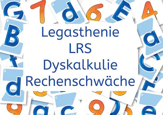 Legasthenie, Dyskalkulie, Informationsveranstaltung, AFS-Methode, DVLD, LRS, Rechenschwäche, Eltern, Kinder, Schule
