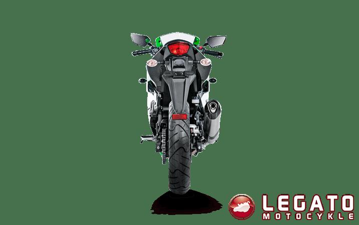 Tłumik końcowy Akrapovic Titanium Kawasaki Ninja 250R 2008