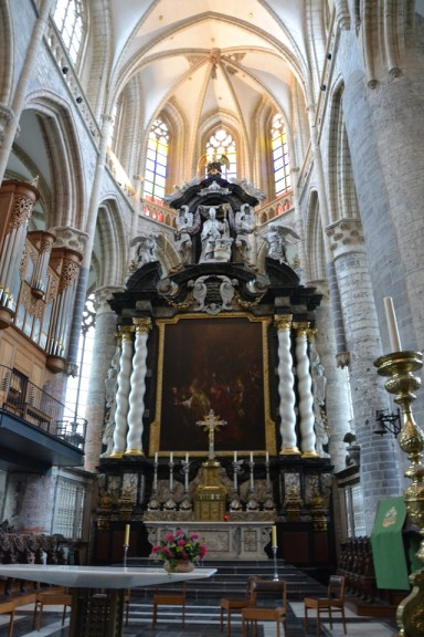 Iglesia de San Nicolás interior