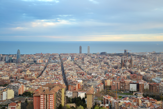 vistas bunkers del carmel barcelona