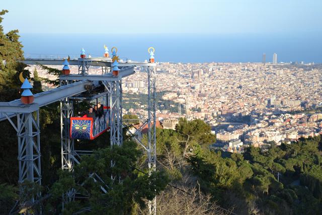 Miradores Barcelona 16 - Vistas Tibidabo