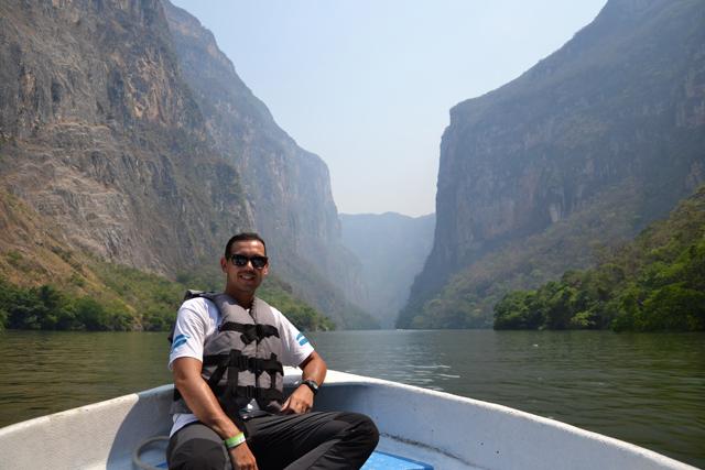 El Cañón del Sumidero, Chiapas