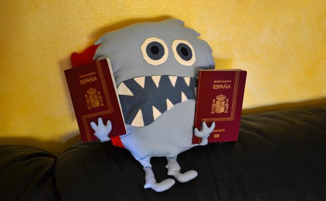 monstruo come destinos con pasaportes