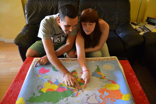 planeando vuelta al mundo