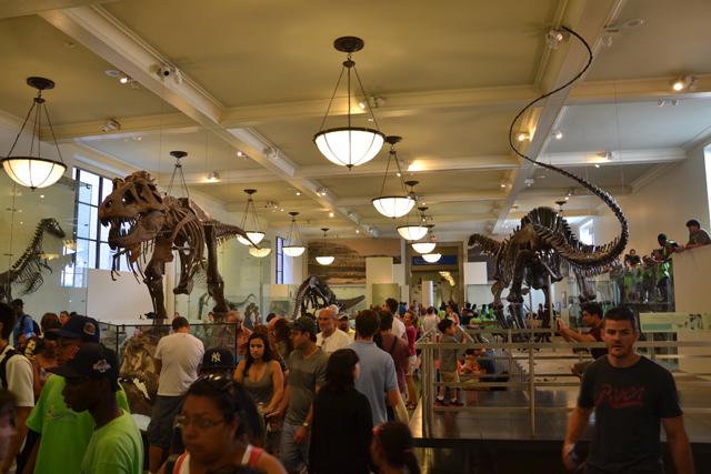 Museo de Historia New York dinosaurios