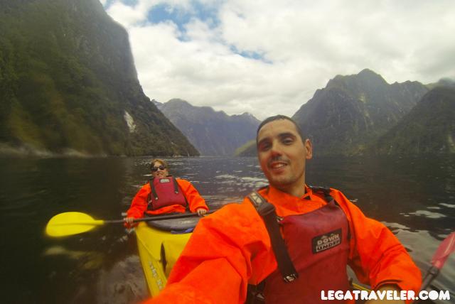 kayak en milford sound 1