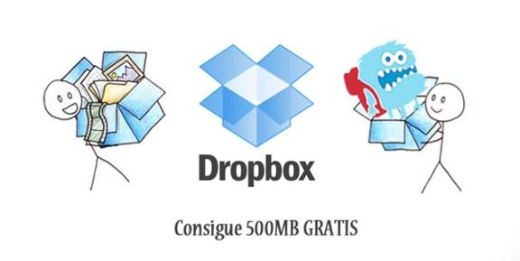 Dropbox legatraveler invitación