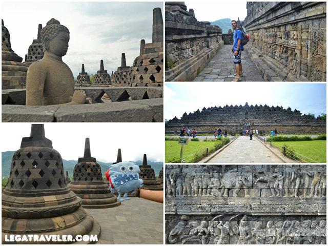 Visita Templo Borobudur Indonesia