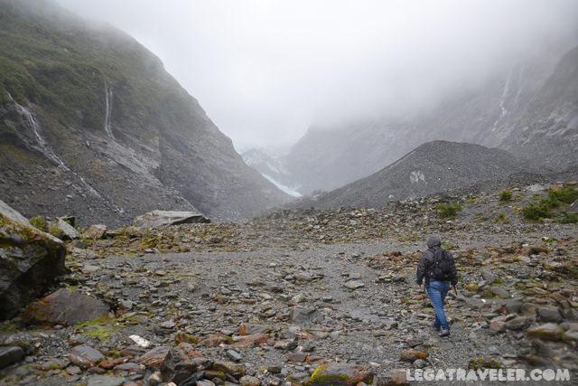 ruta glaciar franz josef