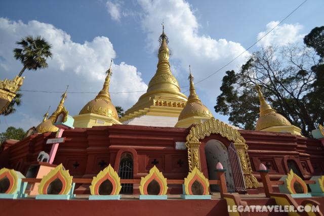 Pagoda Shwegulay Myanmar