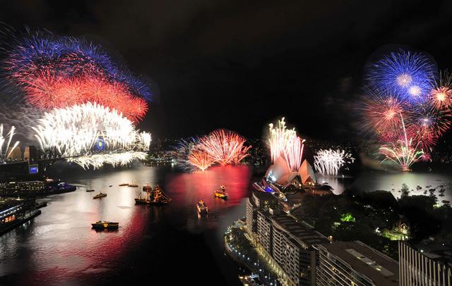 ver-fuegos-artificiales-sydney-fin-de-año