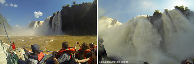 cataratas iguazu excursion barco