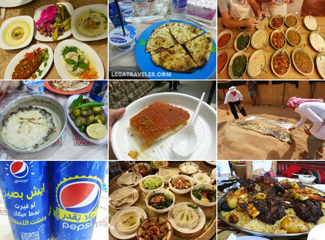 que comer en jordania platos tipicos