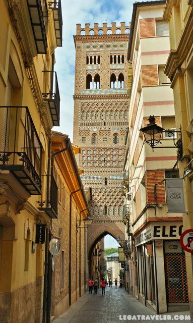 Torre del Salvador - Qué ver en Teruel