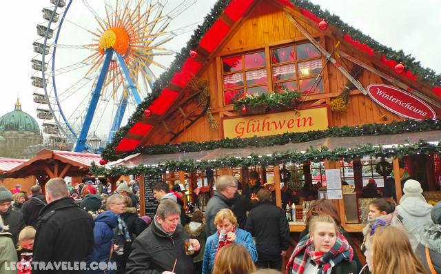 Mercados Navidad Berlin Weihnachtszeit