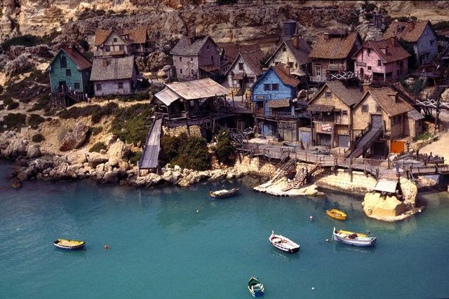 que-ver-en-malta-popeye-village