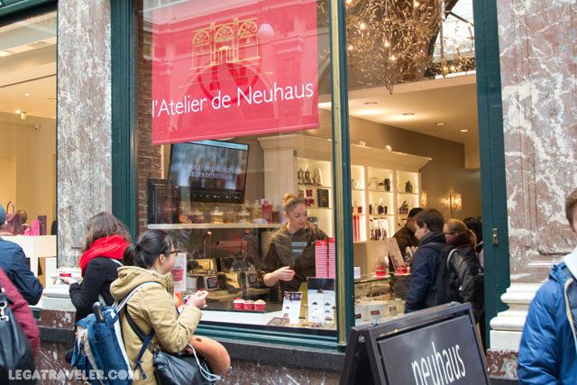 atelier neuhaus bruselas galeria de la reina